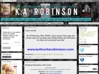 Authorkarobinson.blogspot.com