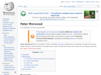 Peter morwood