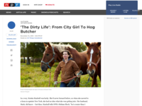 the dirty life from city girl to hog butcher